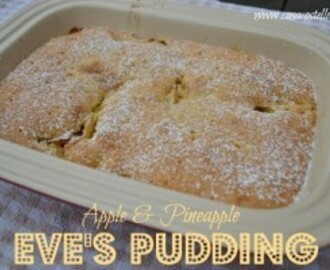 Apple & Pineapple Eve's Pudding – Bake of the Week