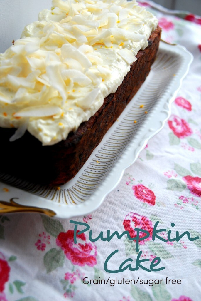 'Pumpkin' Cake – Grain/Gluten/Sugarfree
