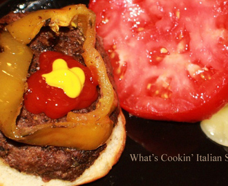 Mom's Baked Italian Style Hamburgers Recipe
