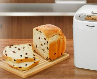 raisin bread | review of panasonic bread maker