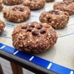 No-Bake High Energy Chocolate Peanut Butter Cookies