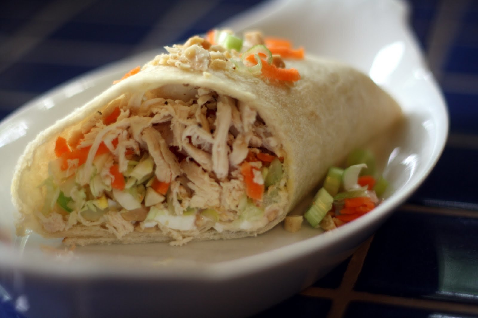 Easy Chicken Sandwich Wrap