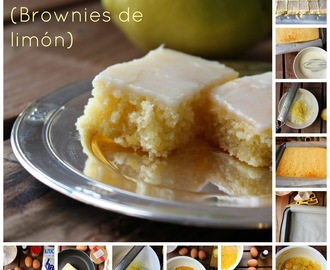 Lemonies (Brownies de limón)