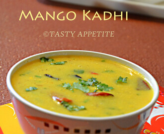 How to make Mango Kadhi / North Indian Style Recipe / Step-by-Step