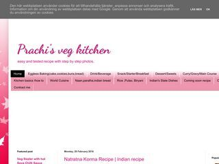 Prachi's veg kitchen