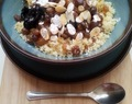 Arabic sweet couscous.