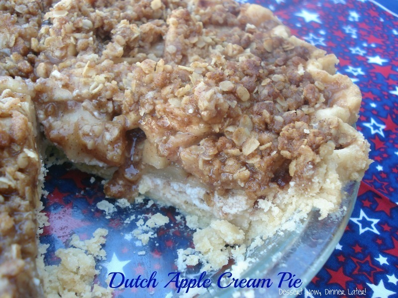 Dutch Apple Cream Pie