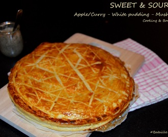 Sweet and sour pie – tourte aigre-douce {Bataille Food #19}