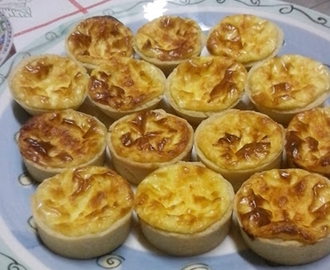 Mini Quiche de Queijos