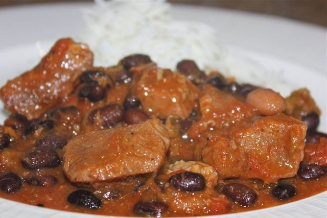 SPICY PORK & CHILLI BEAN STEW