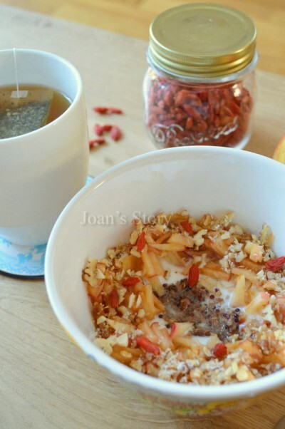 Recept: warme quinoapap met appel