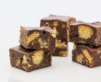 Chocolate Digestive Fudge