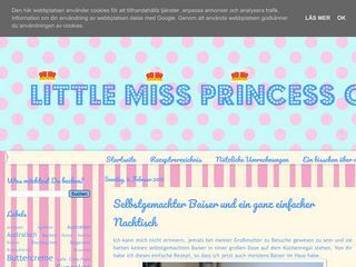 Little Miss Princess Cakes