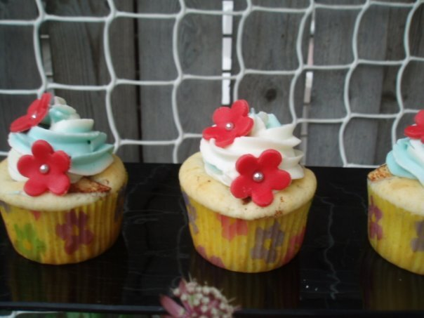 Äpple/kanelcupcakes med cream cheese frosting