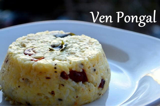 Ven Pongal | Simple South-Indian Breakfast Recipe