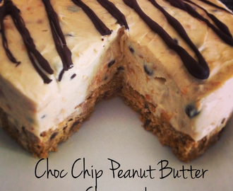 Chocolate Chip Peanut Butter Cheesecake!