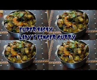 VENDAIKKAI/OKRA/lADY'S FINGER CURRY