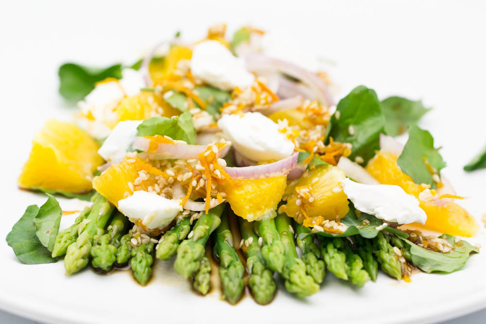 Asparagus Orange Salad