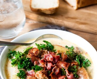 Rich and Creamy Zuppa Toscana