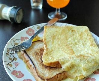 Bread Omelette Toast