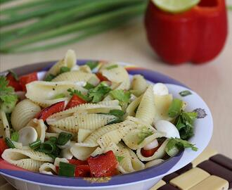 Pasta Chat – Kids Pasta Recipe