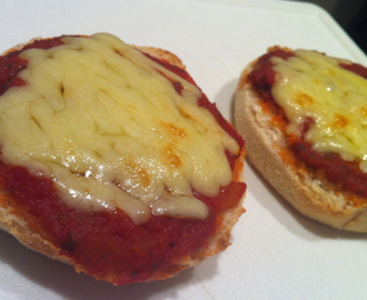 Super quick pizza muffin recipe