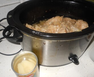 Pork Chops and Sauerkraut In the Crock Pot (Slow Cooker)