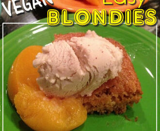VEGAN Soda Blondies