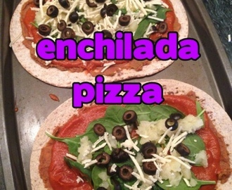 VEGAN Enchilada Pizza