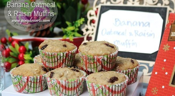 Banana Oatmeal-Raisin Muffin Recipe