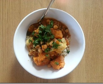 Cook book challenge | veggie korma with mock cauliflower pilau