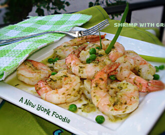 Shrimp with Green Sauce (Camarones con Salsa Verde)