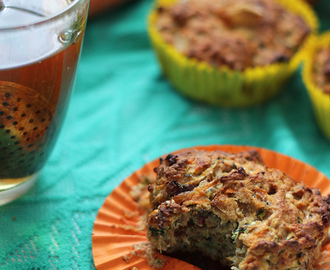 Courgette Wortel Muffins