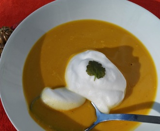 Velouté de potiron inspiration thaïe version Thermomix