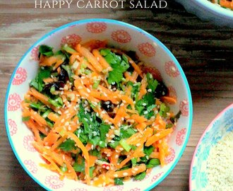 Happy carrot salad