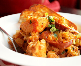 Creole Chicken and Sausage Jambalaya