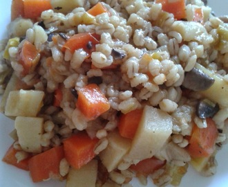 Cheap Budget Meals - Pearl Barley Risotto