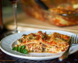 Low-Fat Vegetable Lasagna