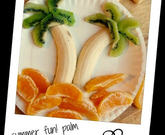 summer fun! palm tree fruit ♥