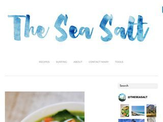 the sea salt