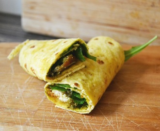 FOOD FRIDAY: Cornwraps met kip, pesto & rucola