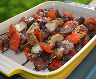 Teriyaki Steak Kabobs: A Summer Staple