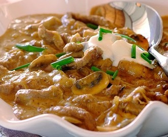 Beef Stroganoff - Easy Verona version!
