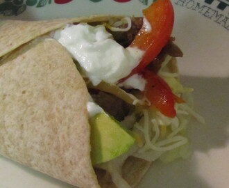 Weight Watchers Monday: Steak Wraps
