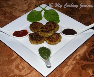 Green Cutlets - Lentil Patties with greens (BM # 29)