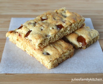 Mary Berry's Date and Cherry Butter Bars
