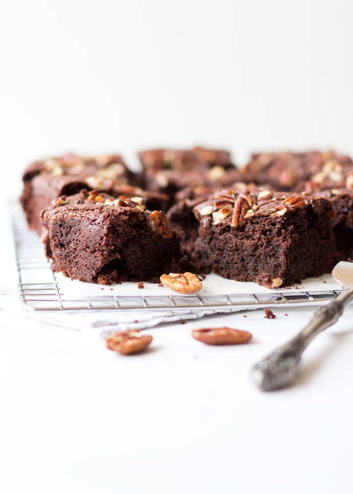 Vegan suikervrije brownies