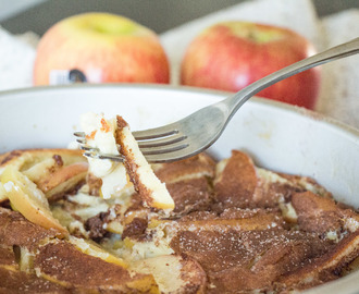#BrunchWeek: German Apple Pancake