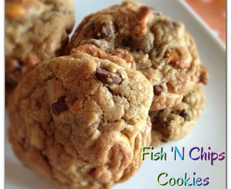 Fish 'N Chips Cookies....#Improv
