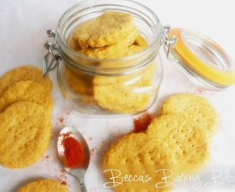 Great British Bake Along: Paprika Thins